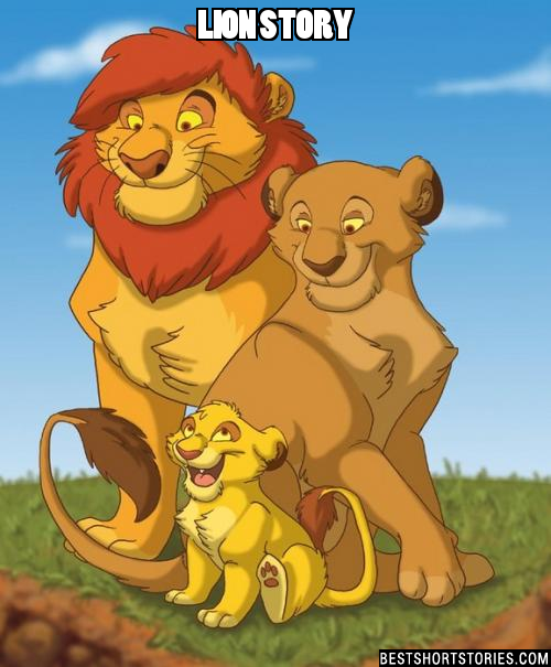 Once up a time there were three lions. Daddy lion, Mummy lion and Baby lion. It was soon going to be Baby lion's birthday he would be one year old. 